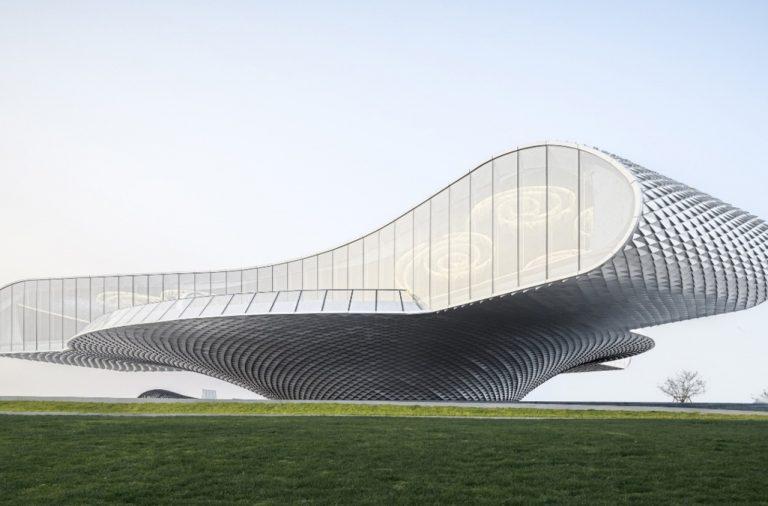 The Wave Art Gallery – Đợt sóng lớn nơi biển cả và đất liền | Lacime Architects Beijing