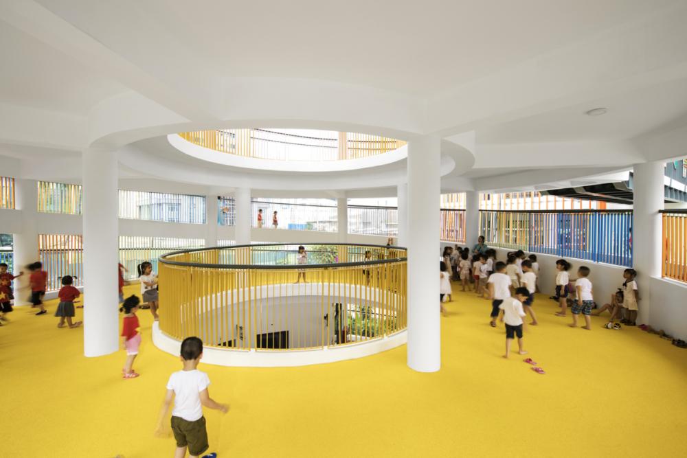 Trường mầm non Sunflower / Công ty liên doanh Sunjin Vietnam