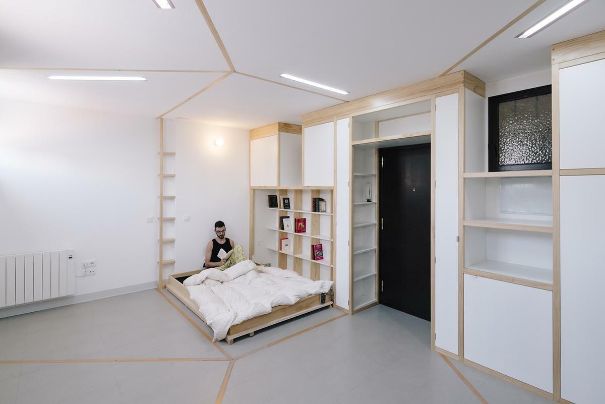 Gợi ý 9 cách tối ưu hóa không gian nhỏ từ giường gấp và trượt