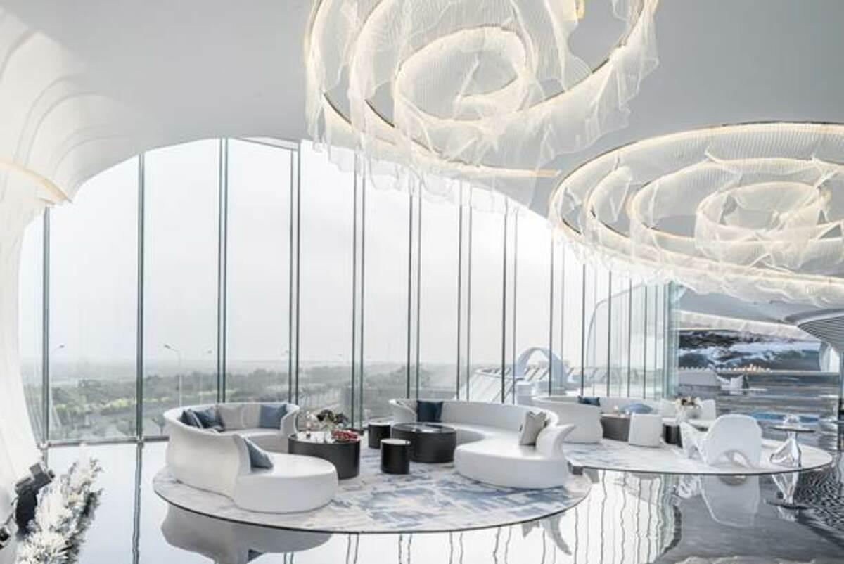 The Wave Art Gallery – Đợt sóng lớn nơi biển cả và đất liền   Lacime Architects Beijing