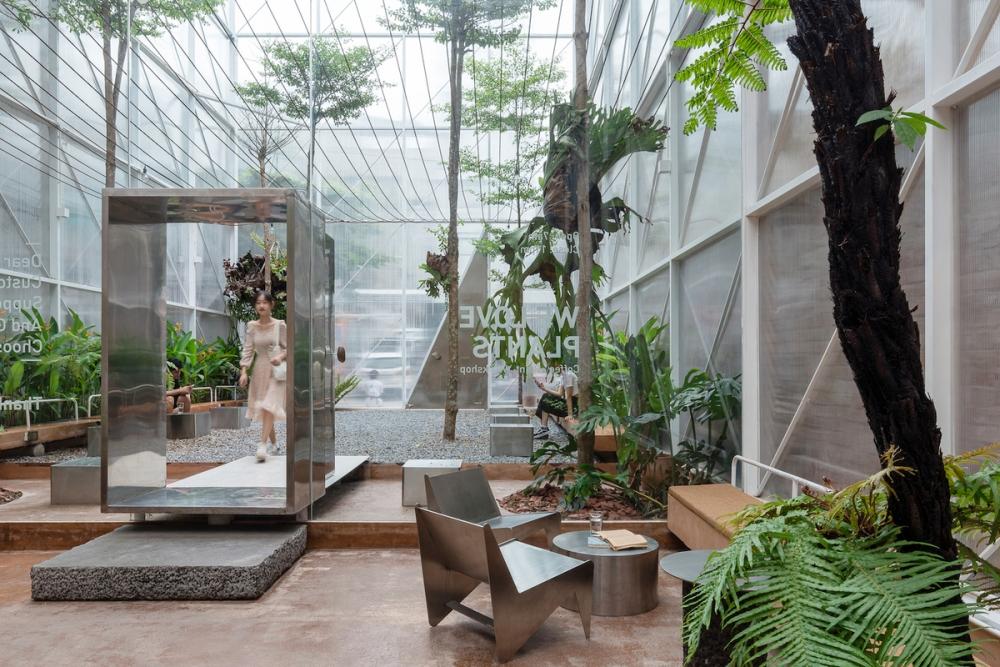 Tropical Forest - Khu rừng lạc giữa những con phố | Tayone Studio