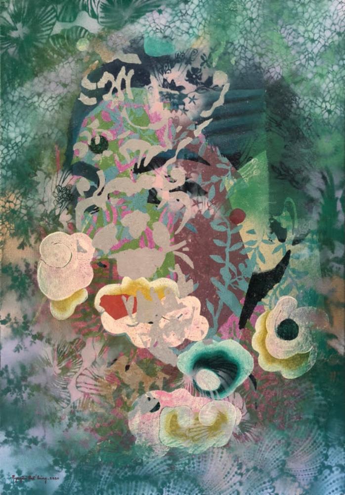 """Triển lãm """"Trong vườn"""" - Thiên nhiên mộng mơ mà lãng đãng"""