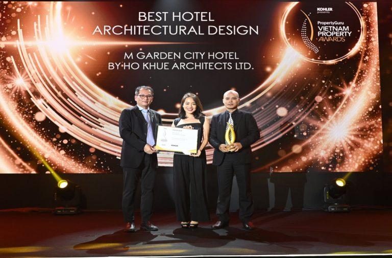 M Garden City Hotel – Đà Nẵng được tôn vinh tại Giải thưởng Bất động sản Viet Nam Property Awards
