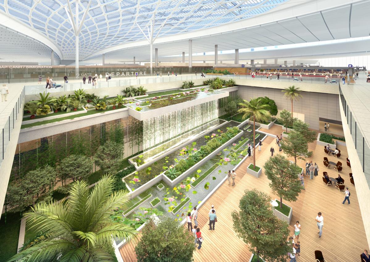 Chính phủ phê duyệt dự án sân bay Long Thành