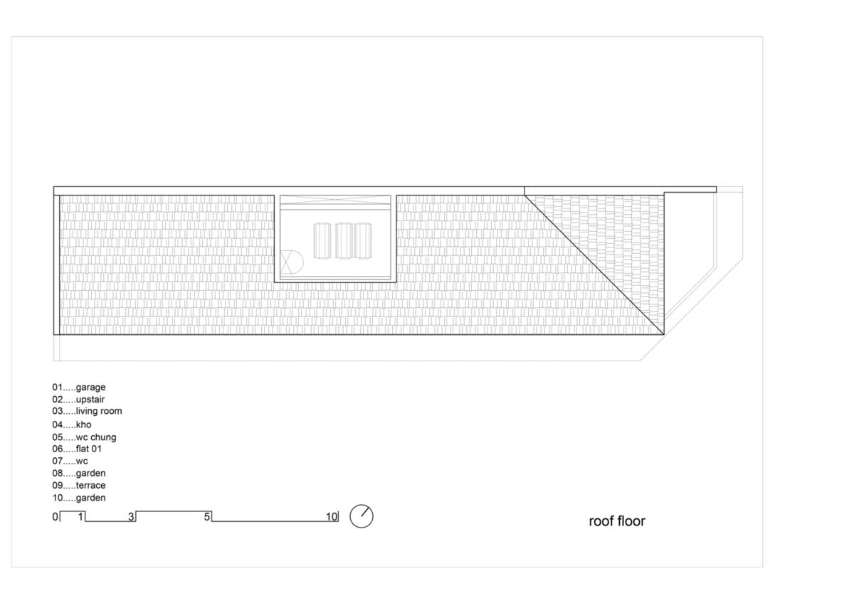 Dai An Apartment – Những khối hộp bungalow đa sắc màu | H.2 Architects