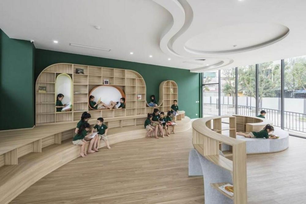 Kiến trúc bằng gỗ cho trẻ em: Những thiết kế đem lại không gian ấm áp và vui tươi