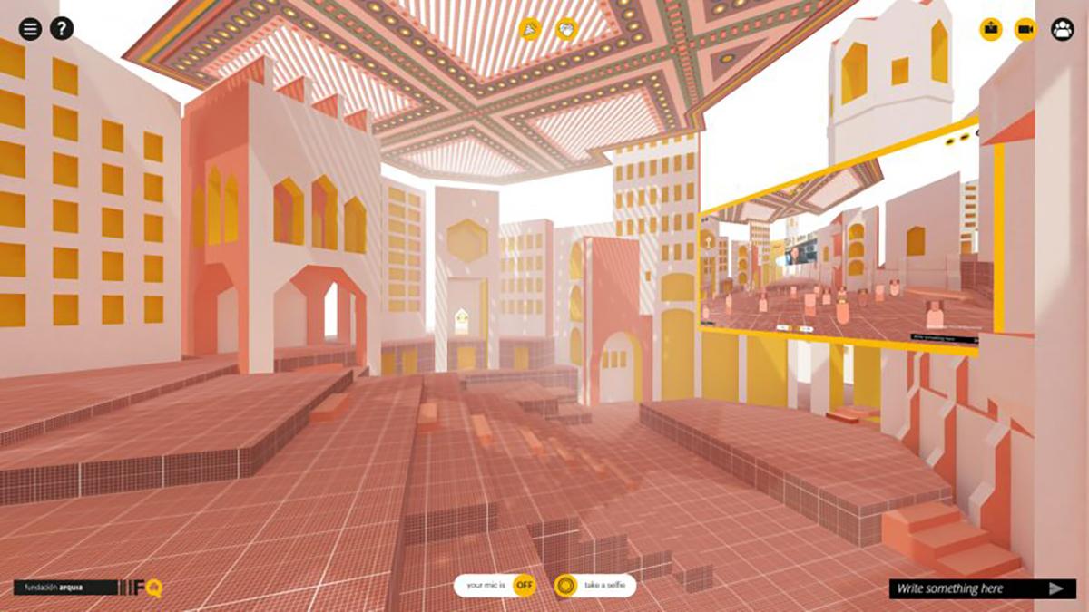 Không gian hội thảo kiến trúc thực tế ảo đầu tiên trên thế giới – Sự thay thế hoàn hảo cho Zoom Meetings