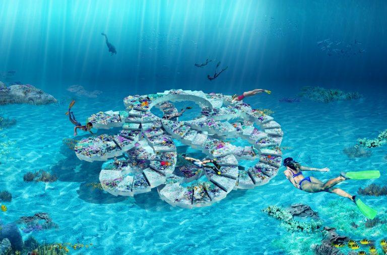 Ngắm nhìn dự án công viên điêu khắc dưới nước đầu tiên ở bãi biển Miami