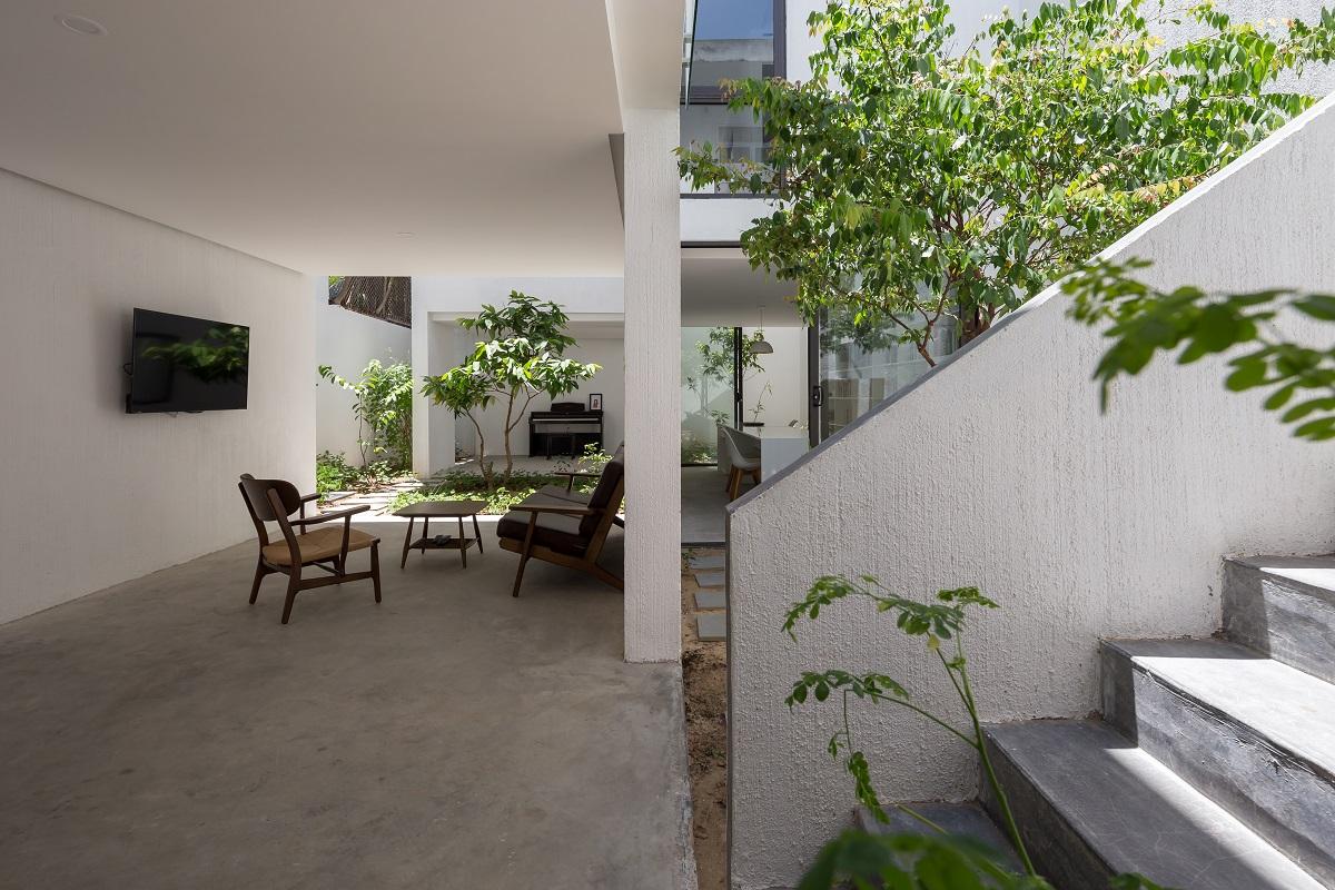 1 46 - Nhà Mệ Loan - Khoảng trời đón nắng trong ngõ nhỏ   H-H Studio