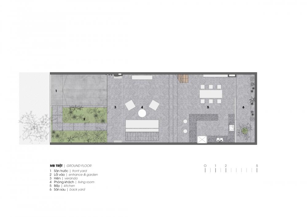 2 34 1000x1000 - Nhà ở quận 7 - Bức tranh hiện đại yên ả | H.a