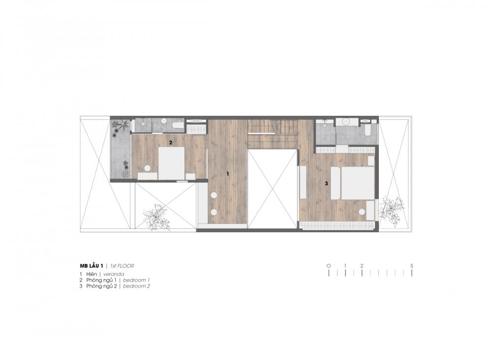 3 34 1000x1000 - Nhà ở quận 7 - Bức tranh hiện đại yên ả | H.a