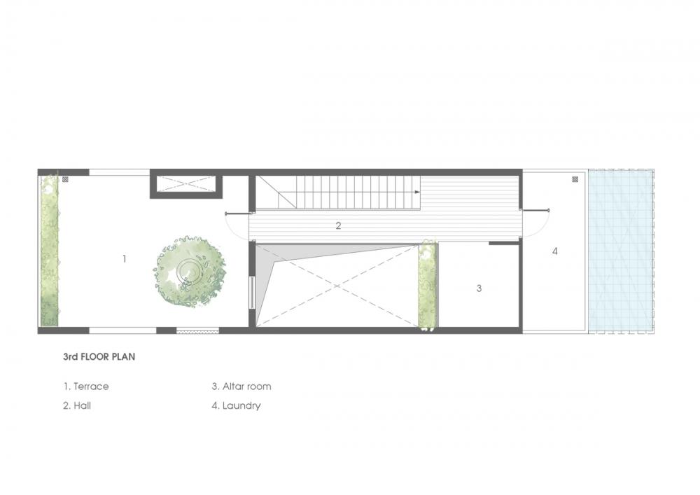 3.3RD FLOOR PLAN 1000x2000 - NGỌC House - Chất keo gắn kết gia đình đa hệ  Story Architecture