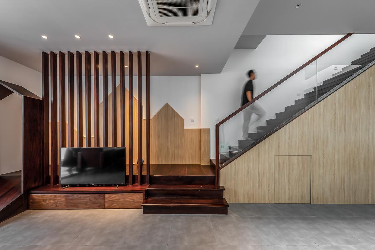34 1 - NGỌC House - Chất keo gắn kết gia đình đa hệ  Story Architecture