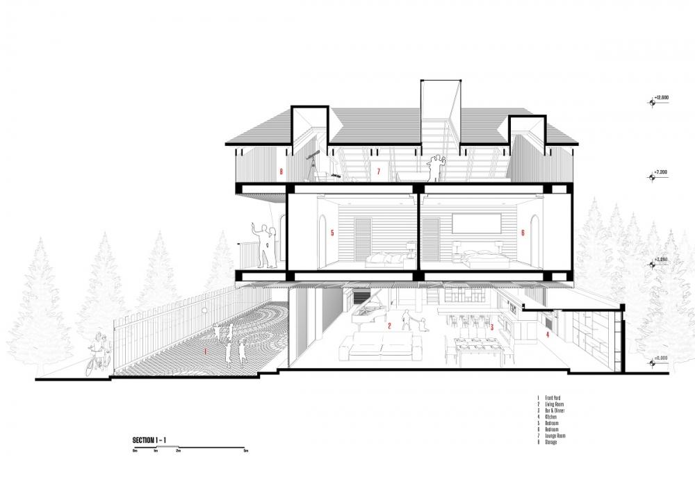 4 11 2 1000x1000 - Nhà Nam Hồ - công trình hòa quyện nét đẹp truyền thống và hiện đại   RYO Group
