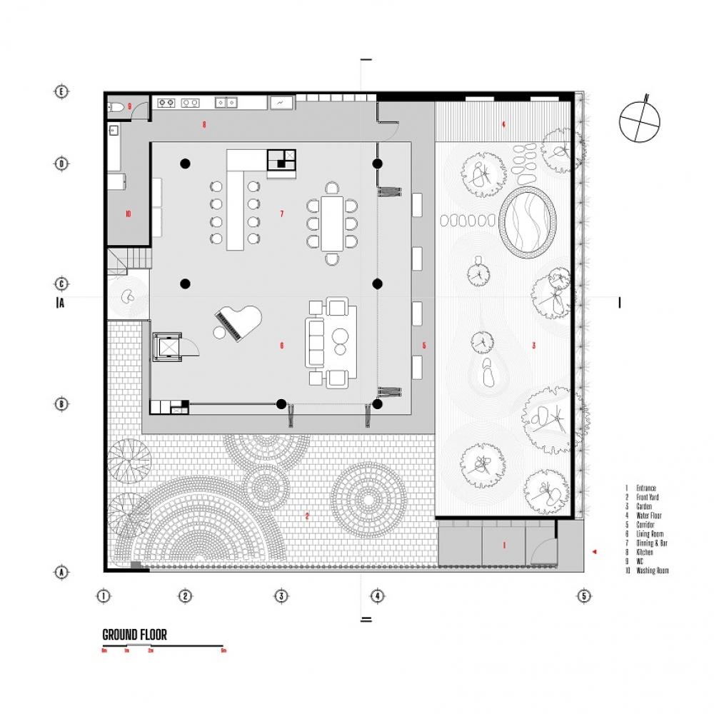 4 4 2 1000x1000 - Nhà Nam Hồ - công trình hòa quyện nét đẹp truyền thống và hiện đại   RYO Group
