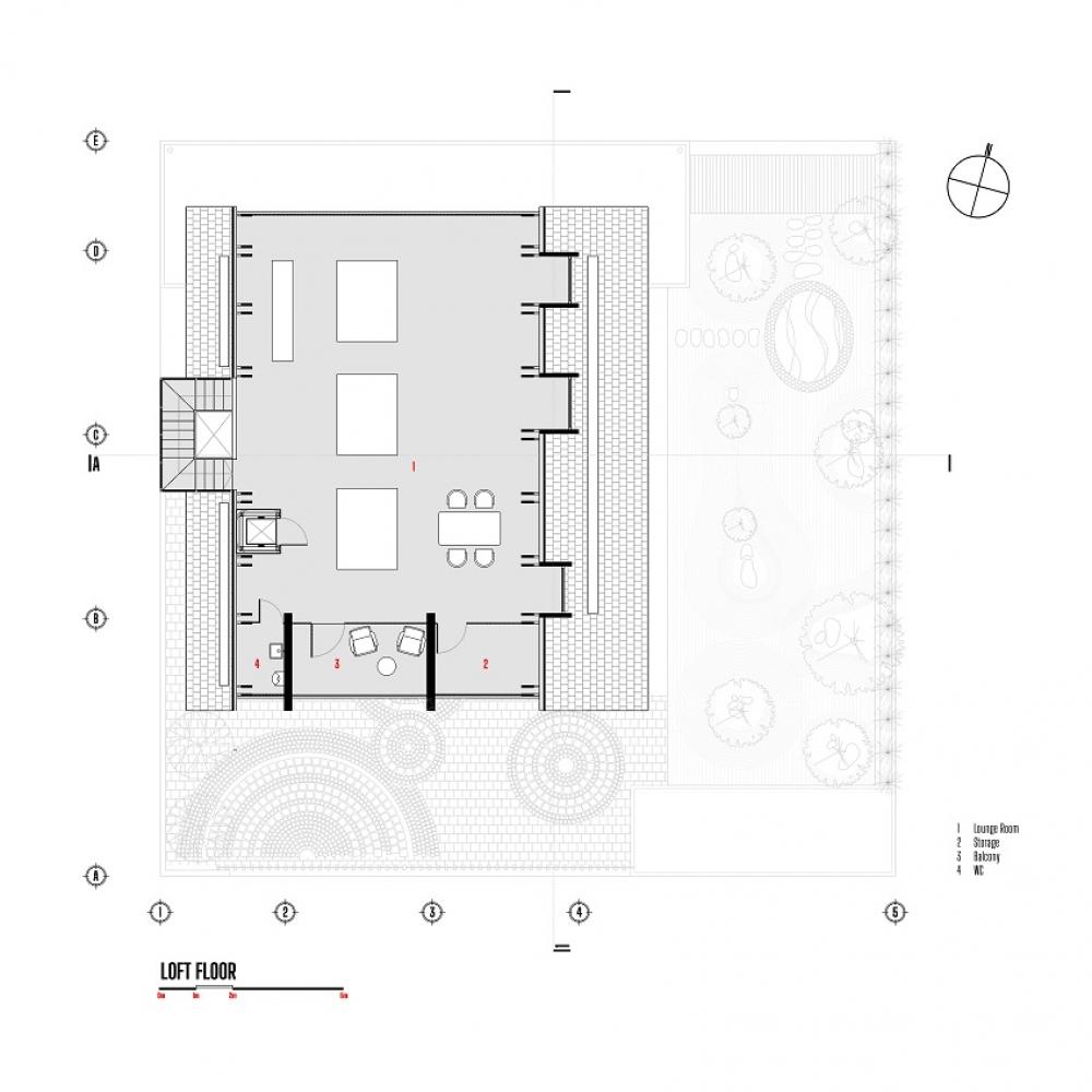 4 6 2 1000x1000 - Nhà Nam Hồ - công trình hòa quyện nét đẹp truyền thống và hiện đại   RYO Group