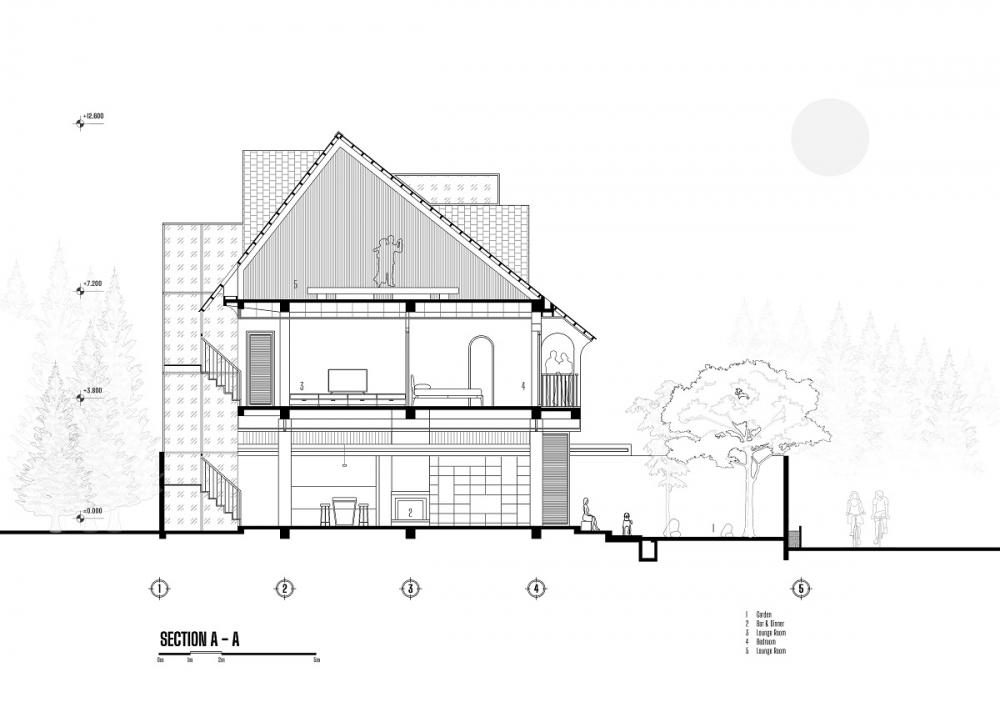 4 9 2 1000x1000 - Nhà Nam Hồ - công trình hòa quyện nét đẹp truyền thống và hiện đại   RYO Group