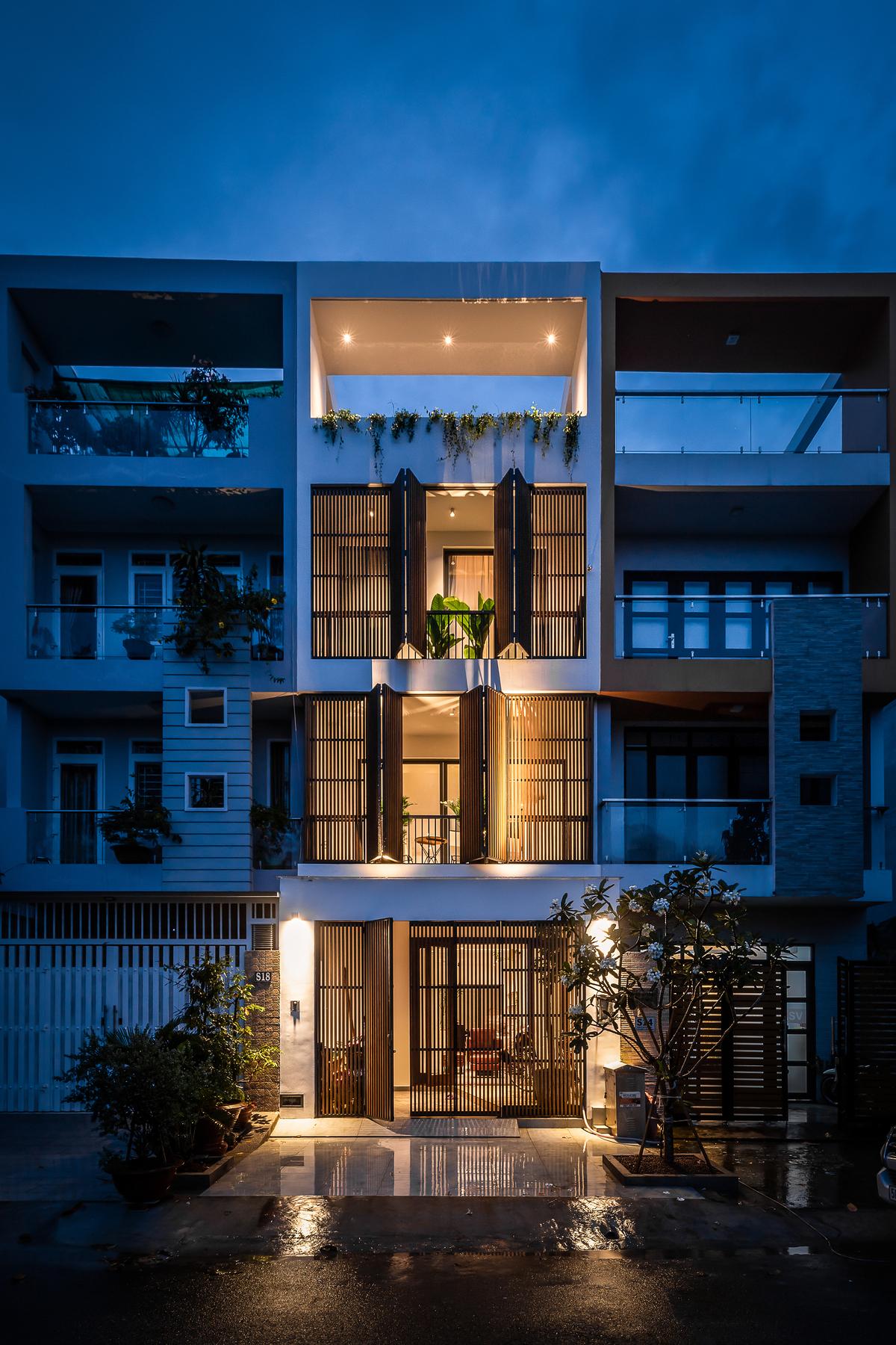 41 1 - NGỌC House - Chất keo gắn kết gia đình đa hệ  Story Architecture