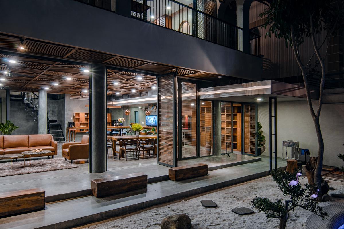 6 21 - Nhà Nam Hồ - công trình hòa quyện nét đẹp truyền thống và hiện đại   RYO Group