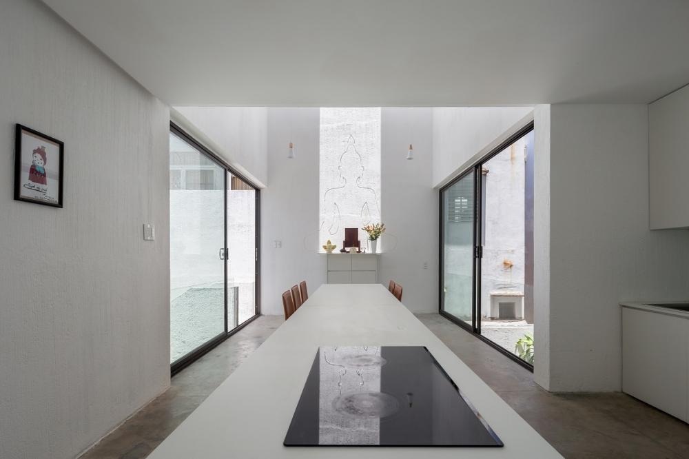 7 33 1000x1000 - Nhà Mệ Loan - Khoảng trời đón nắng trong ngõ nhỏ   H-H Studio