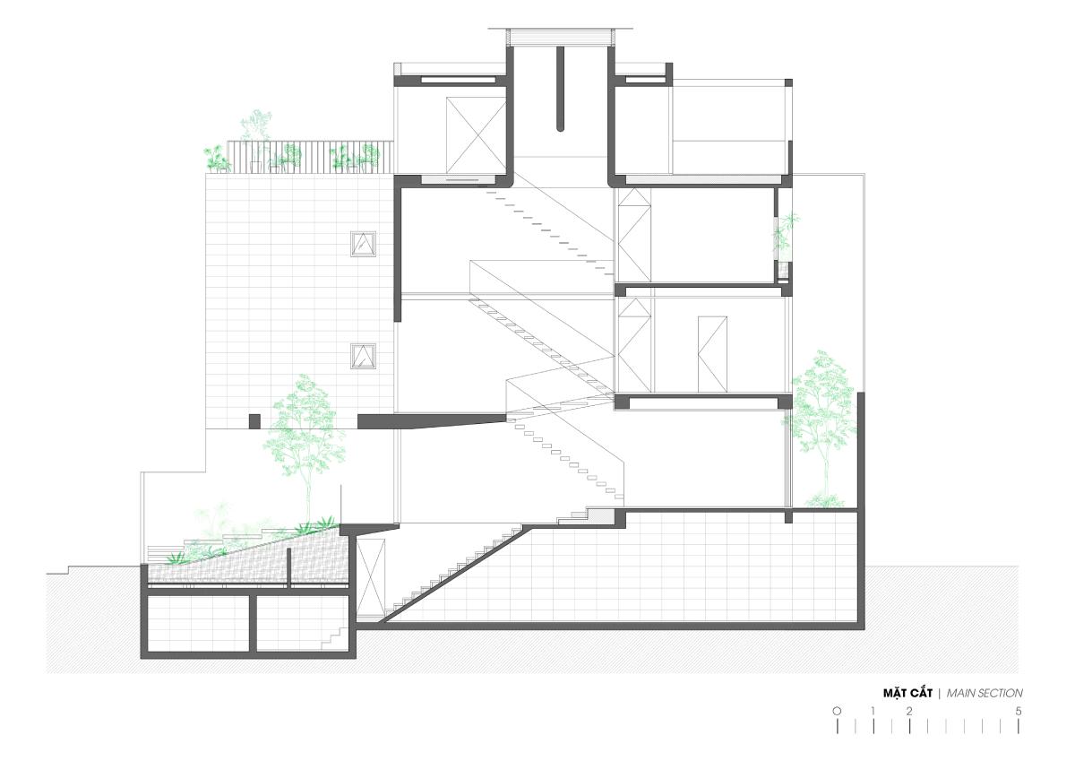 8 21 - Nhà ở quận 7 - Bức tranh hiện đại yên ả | H.a