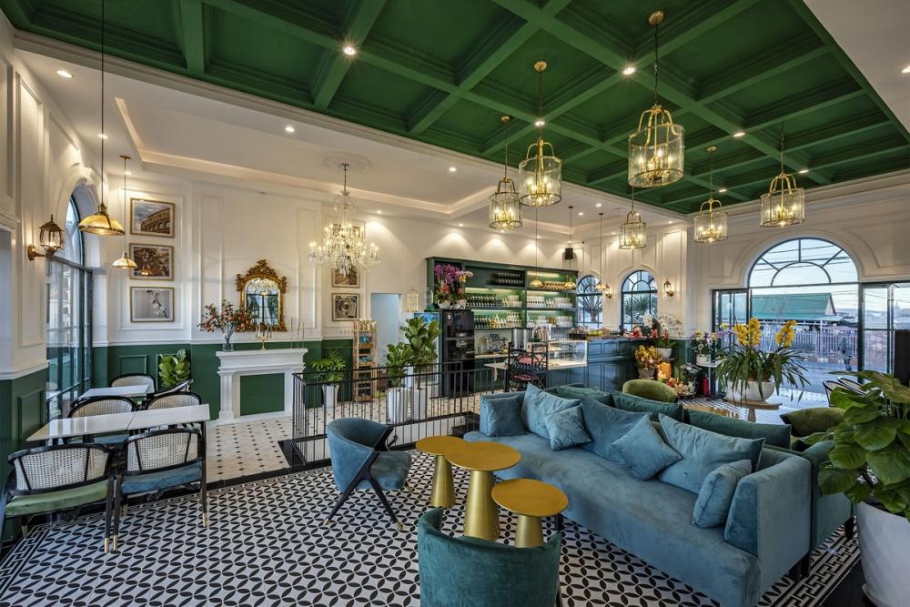 Morning in Town 24 1000x1000 - Morning in Town cafe - Thiết kế bao trọn không gian núi rừng tại Đà Lạt | KenDesign