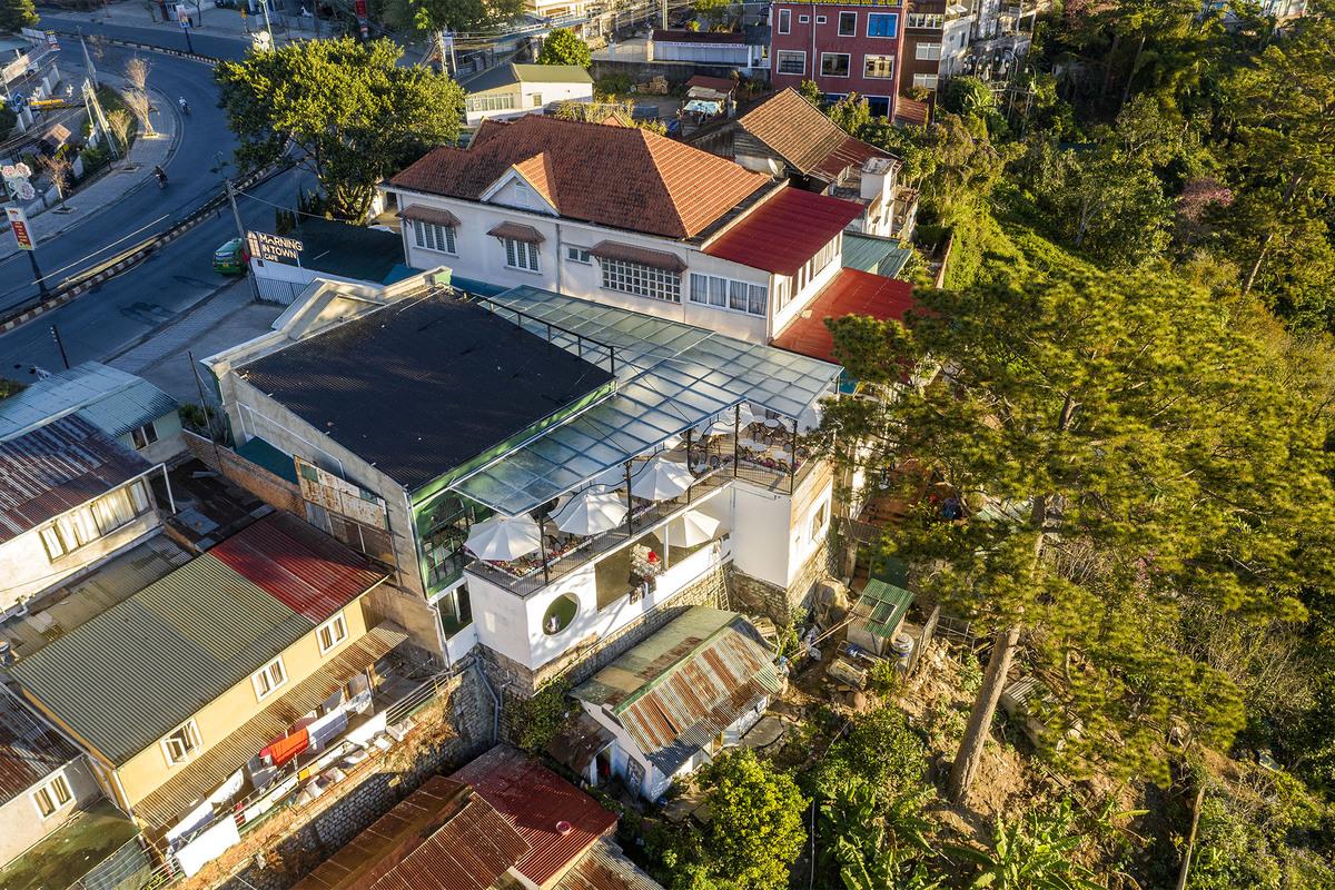 Morning in Town Kendesign - Morning in Town cafe - Thiết kế bao trọn không gian núi rừng tại Đà Lạt | KenDesign