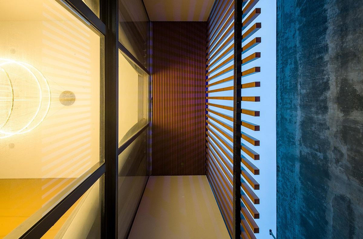 kienviet nha ham rong 16 - Nhà Hàm Rồng - Tận hưởng thiên nhiên từ mọi không gian | T-architects