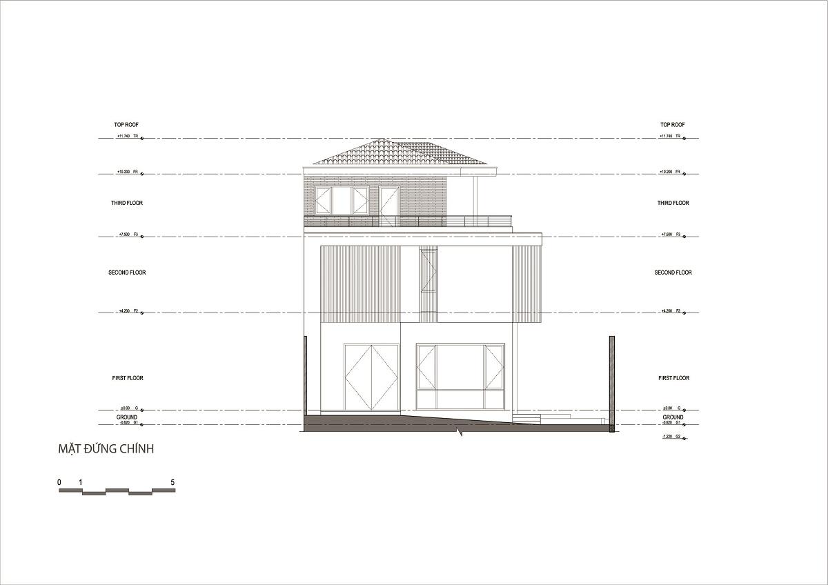 kienviet nha ham rong 2 - Nhà Hàm Rồng - Tận hưởng thiên nhiên từ mọi không gian | T-architects