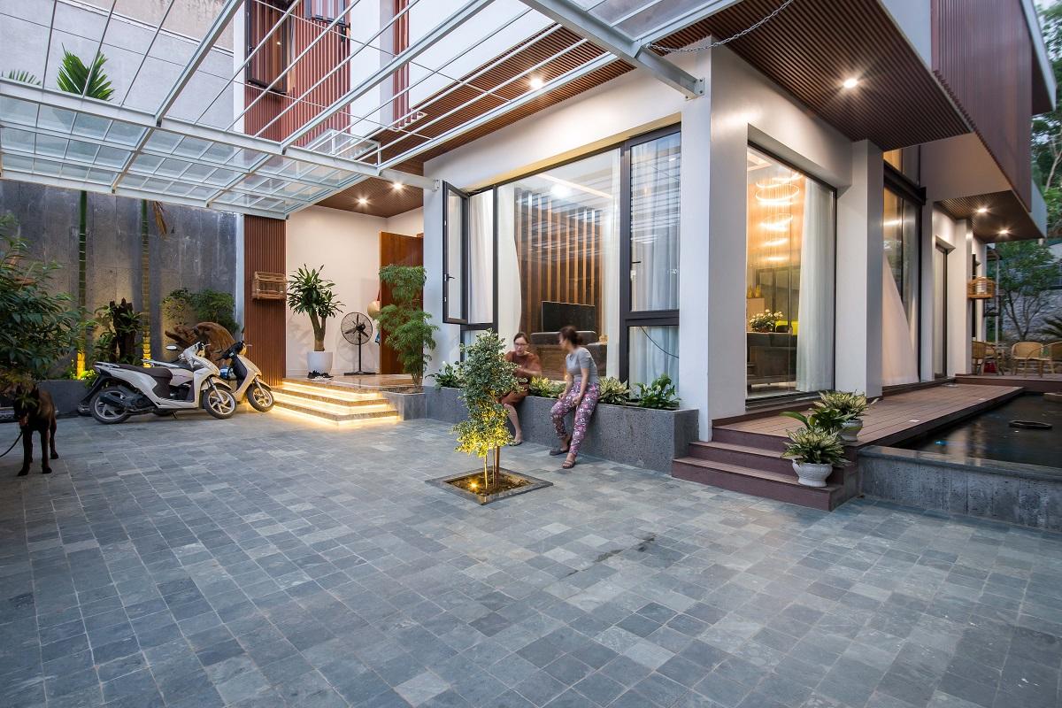 kienviet nha ham rong 21 - Nhà Hàm Rồng - Tận hưởng thiên nhiên từ mọi không gian | T-architects