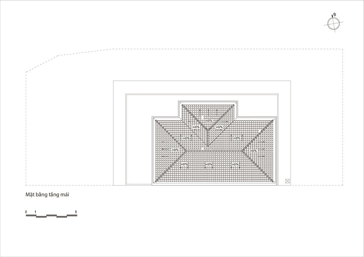 kienviet nha ham rong 3 - Nhà Hàm Rồng - Tận hưởng thiên nhiên từ mọi không gian | T-architects