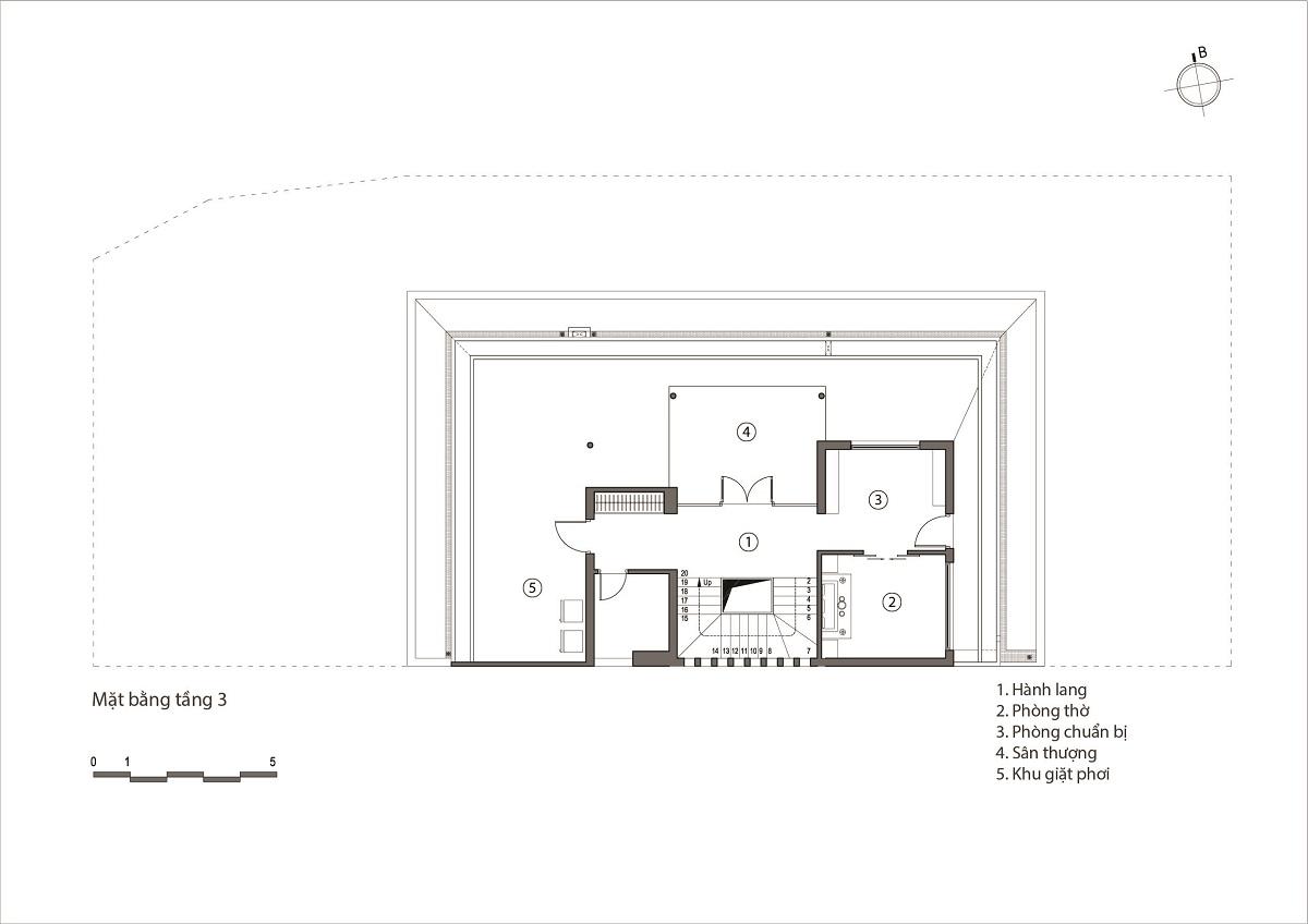 kienviet nha ham rong 4 - Nhà Hàm Rồng - Tận hưởng thiên nhiên từ mọi không gian | T-architects