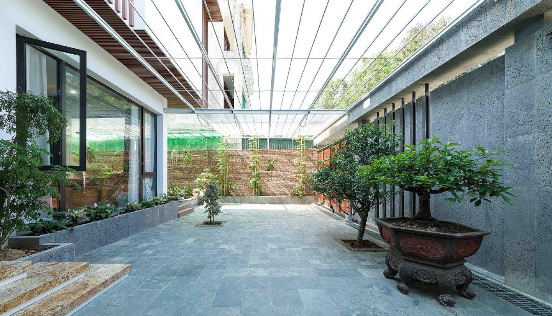 kienviet nha ham rong 44 1440x826 - Nhà Hàm Rồng - Tận hưởng thiên nhiên từ mọi không gian | T-architects