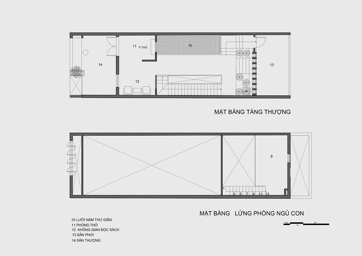 kienviet nha mai huong anh sang tu nhien trong long thanh pho story architecture 30 - Nhà Mai Hương - thông tầng không gian đón sáng tự nhiên
