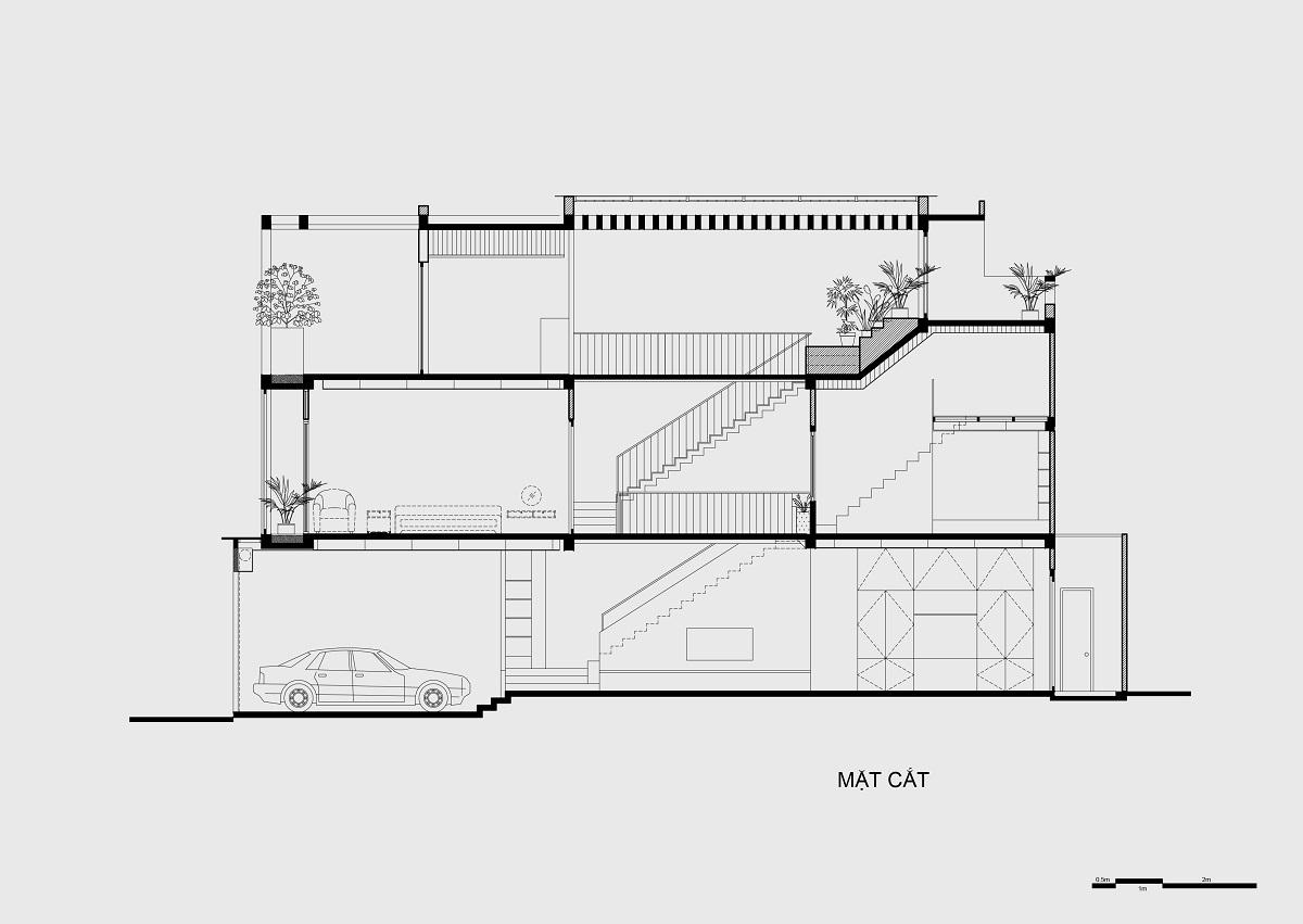 kienviet nha mai huong anh sang tu nhien trong long thanh pho story architecture 32 - Nhà Mai Hương - thông tầng không gian đón sáng tự nhiên