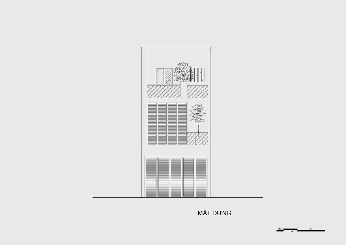 kienviet nha mai huong anh sang tu nhien trong long thanh pho story architecture 33 - Nhà Mai Hương - thông tầng không gian đón sáng tự nhiên