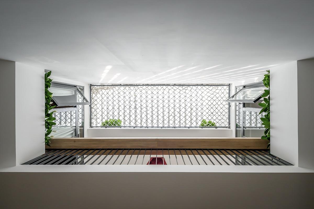 kienviet nha mai huong anh sang tu nhien trong long thanh pho story architecture 9 - Nhà Mai Hương - thông tầng không gian đón sáng tự nhiên