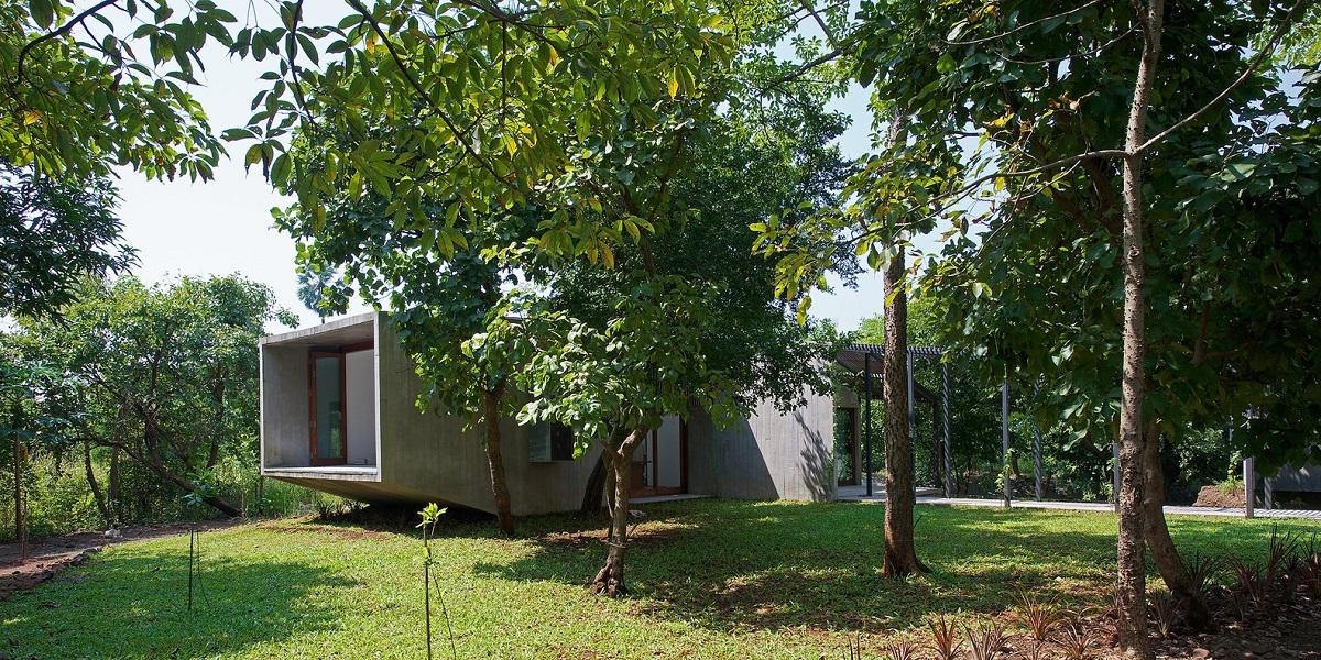 kienviet ngoi nha ben dong suoi o an do vanphong kien truc brio 11 - Ngôi nhà nghỉ dưỡng trên dòng suối ở Ấn Độ