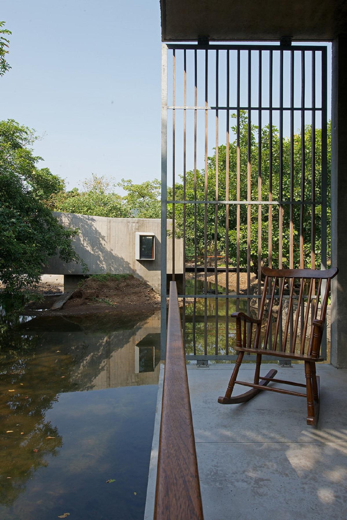 kienviet ngoi nha ben dong suoi o an do vanphong kien truc brio 12 - Ngôi nhà nghỉ dưỡng trên dòng suối ở Ấn Độ