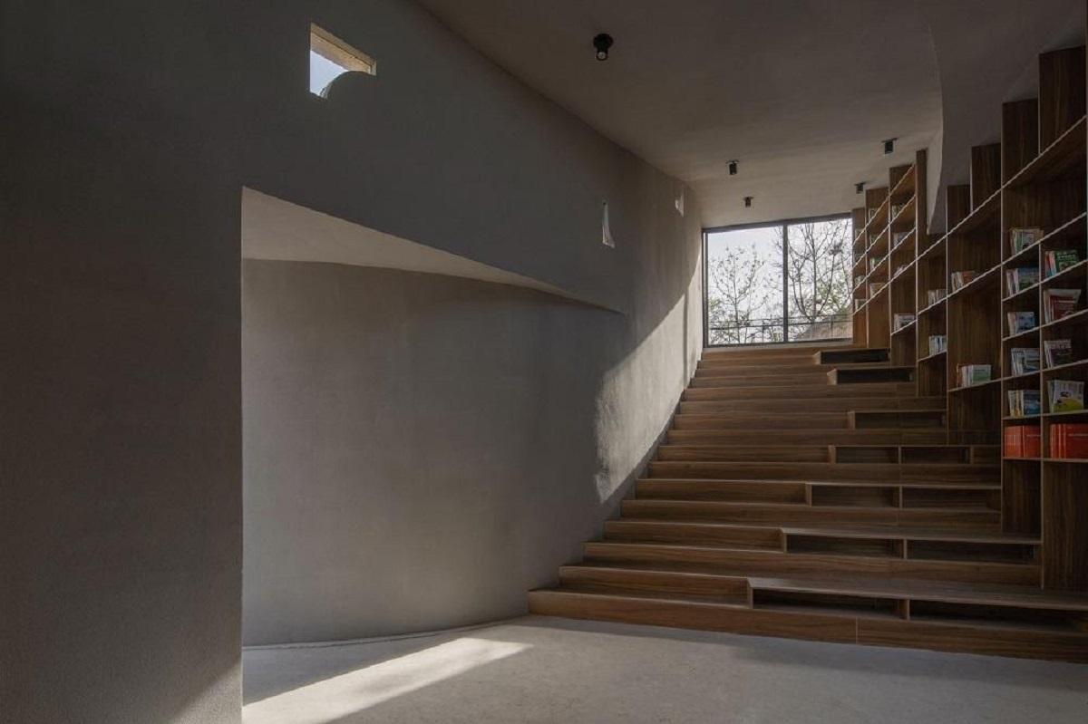 Thư viện cộng đồng mọc lên từ đống đổ nát giữa ngôi làng cổ Sunyao, Trung Quốc | Atelier Xi