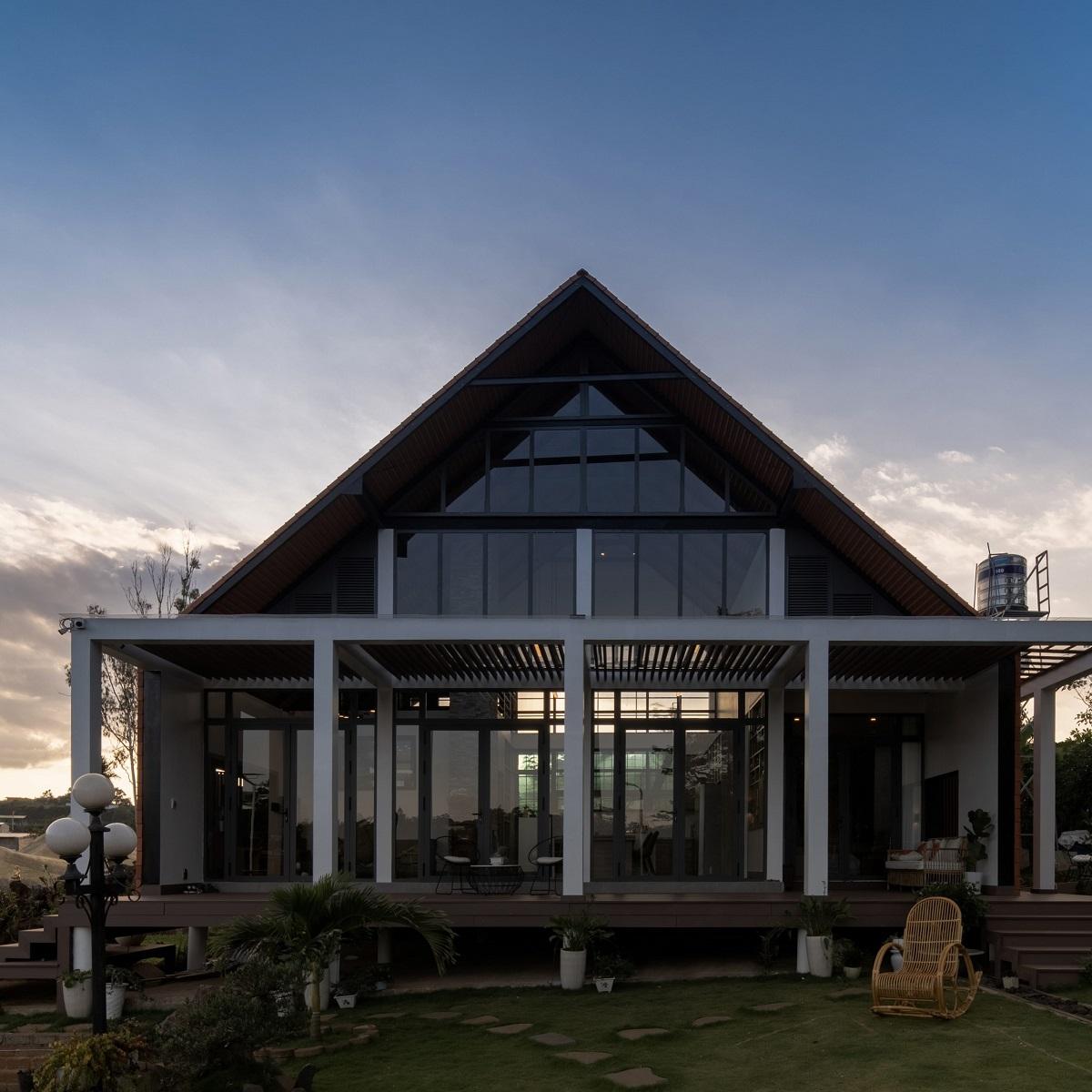 kienviet xuan anh house tan huong khong gian yen binh garchitects 12 - Nhà Xuân Anh - Tìm về chốn yên bình