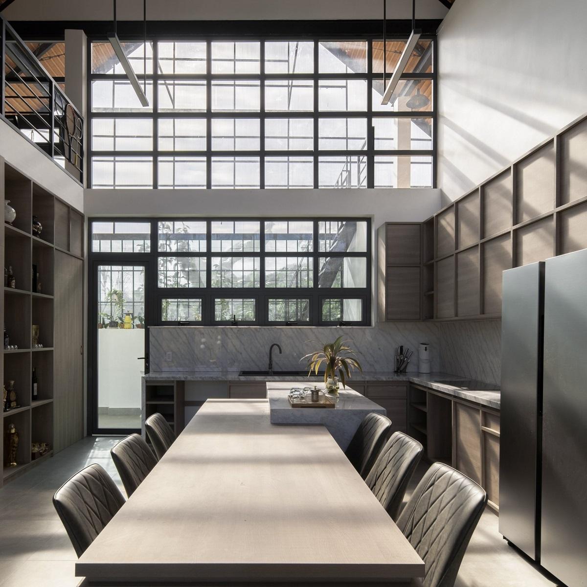 kienviet xuan anh house tan huong khong gian yen binh garchitects 3 - Nhà Xuân Anh - Tìm về chốn yên bình