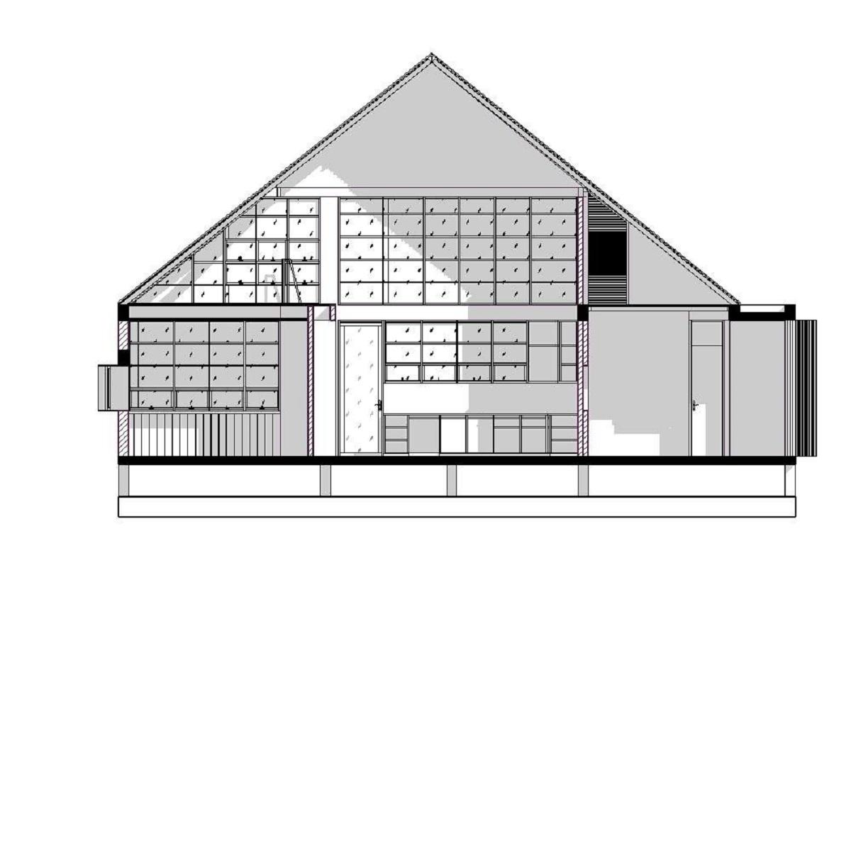 kienviet xuan anh house tan huong khong gian yen binh garchitects 5 - Nhà Xuân Anh - Tìm về chốn yên bình