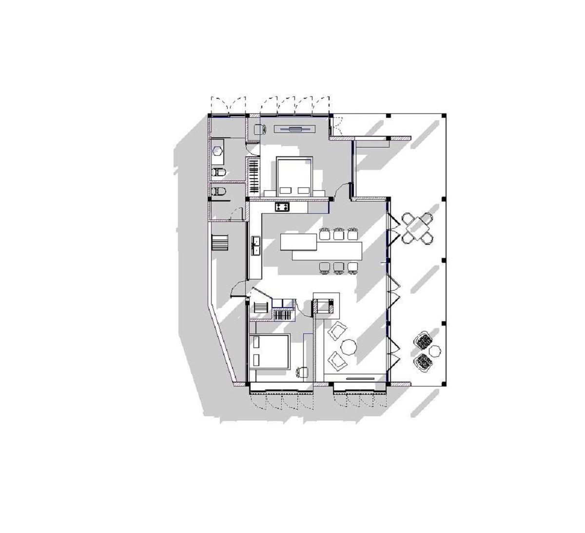 kienviet xuan anh house tan huong khong gian yen binh garchitects 7 - Nhà Xuân Anh - Tìm về chốn yên bình