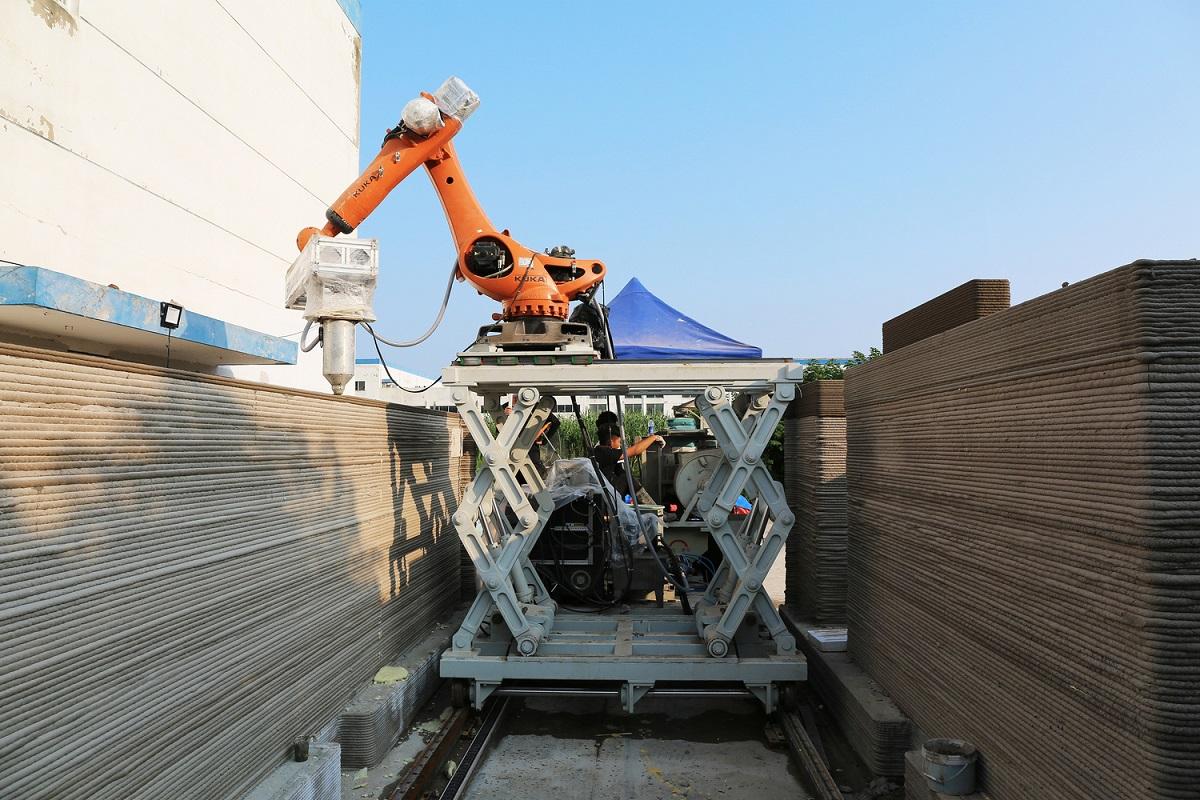 Xu hướng xây dựng bằng công nghệ in 3D ở Trung Quốc